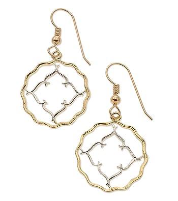85228a039 Amazon.com: British India Coin Earrings, India Coin Hand Cut, 14 ...