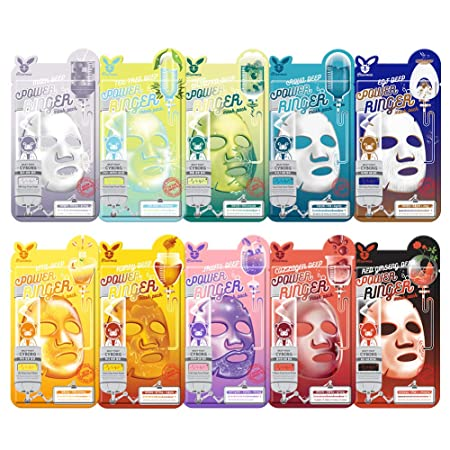 Elizavecca deep-power Ringer 10type mask packs 30Sheets High adhesion cellulose sheet