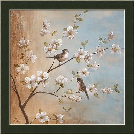 Amazon sweet song i by nan asian floral bird 135x135 in art sweet song i by nan asian floral bird 135x135 in art print framed mightylinksfo