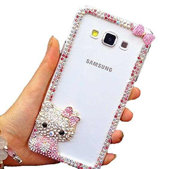 Amazon.com: For Samsung Galaxy S7 EDGE, Hello Kitty Clear ...