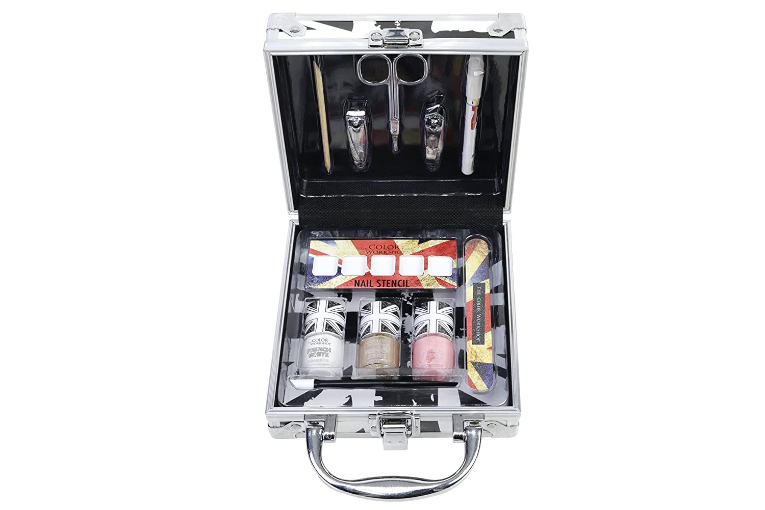 THE COLOR WORKSHOP Coffret Manucure Union Jack 4709010
