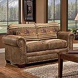 American Furniture Classics Wild Horses Love Seat