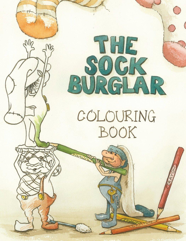 The Sock Burglar Colouring Book ebook