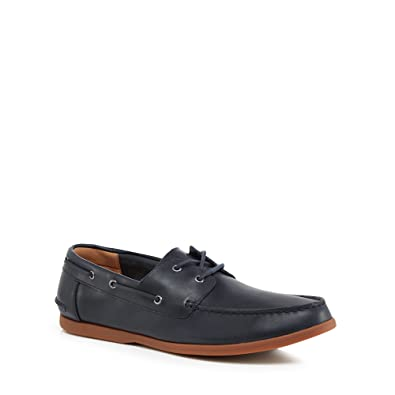 Mens Fulmen Row Boat Shoes, Brown, 6.5 UK Clarks