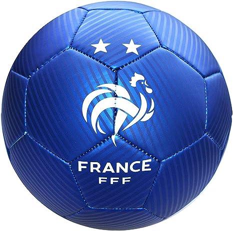 FFF – Balón de fútbol Oficial del Equipo de Francia – Azul: Amazon ...
