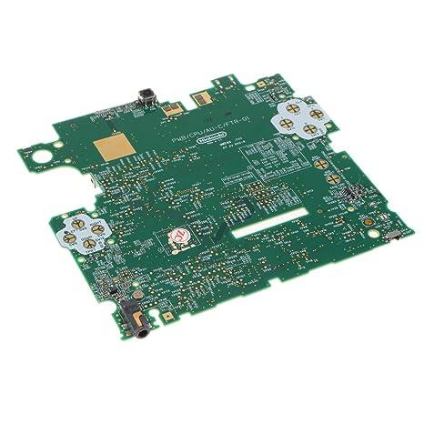 Sharplace Pieza de Reparación de Reemplazo Placa Base Accesorio Ordenador Portátil Cámara Fotografía para Nintendo 2D
