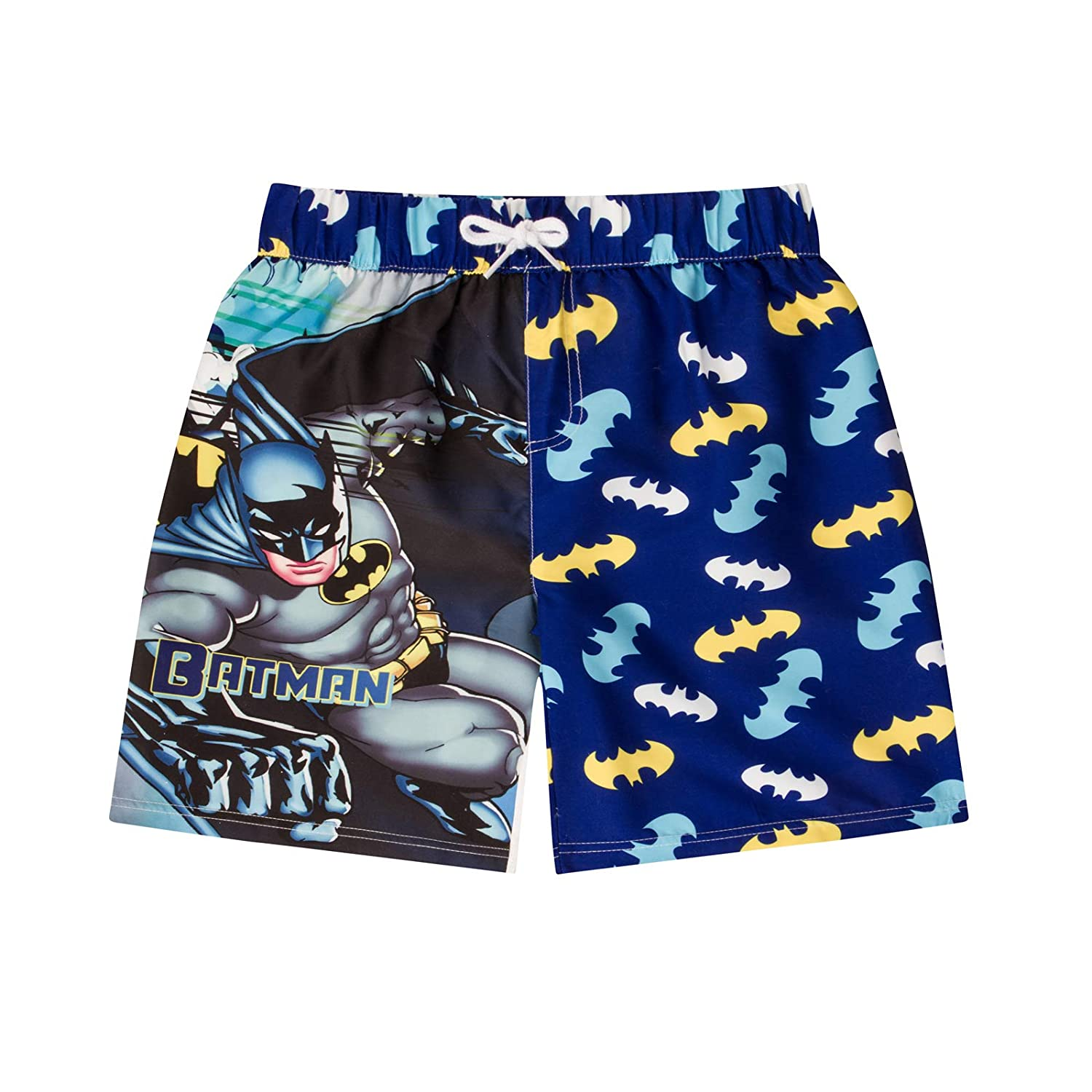 licensed Boys Batman Swim Shorts Trunks Ages 3-10