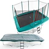 10ft x 14ft Skyhigh Rectangular Trampoline with Enclosure, Cover & Ladder