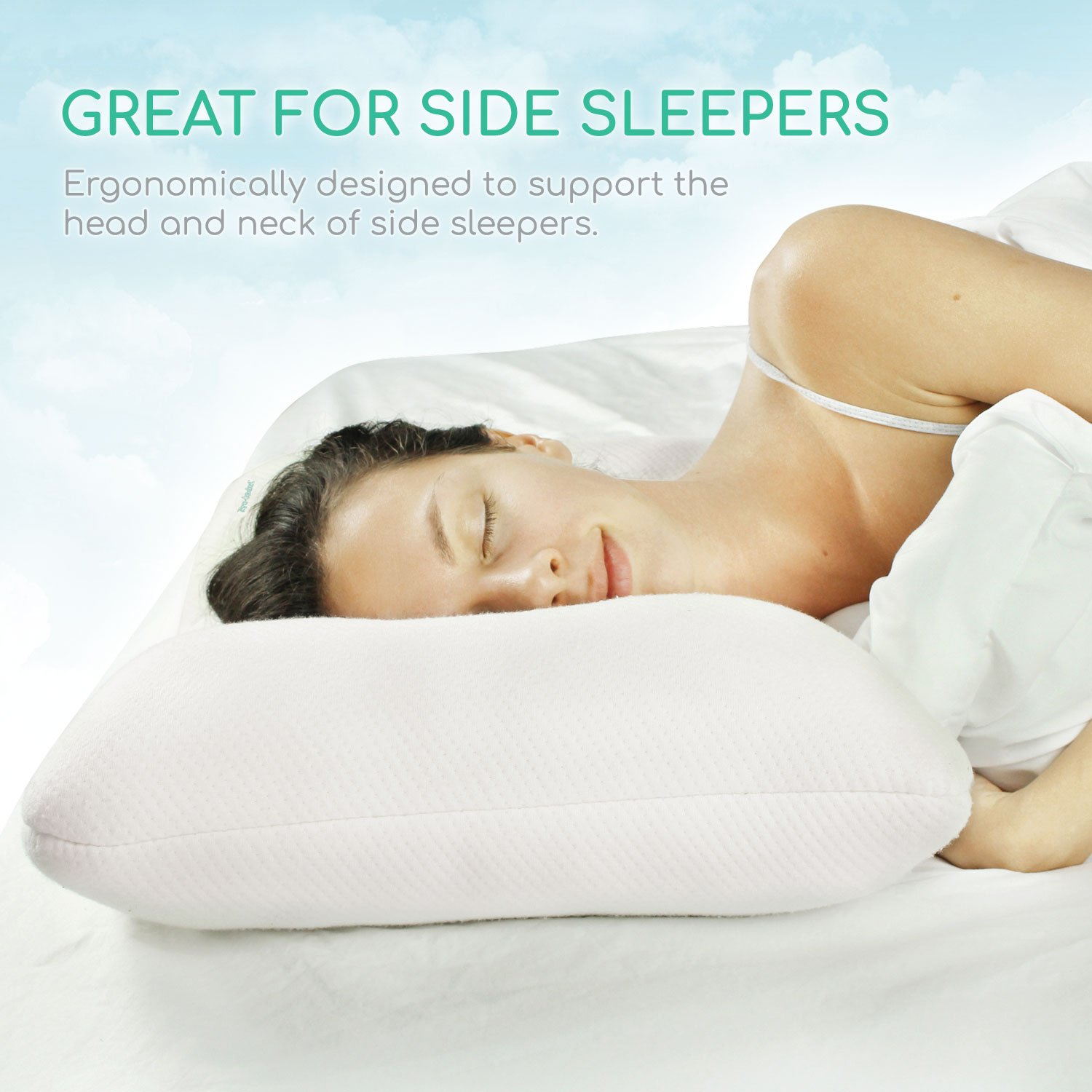 back best spine for com side support alignment dp sleepers oml neck experience pillow cervical bodymed spondylosis and amazon a