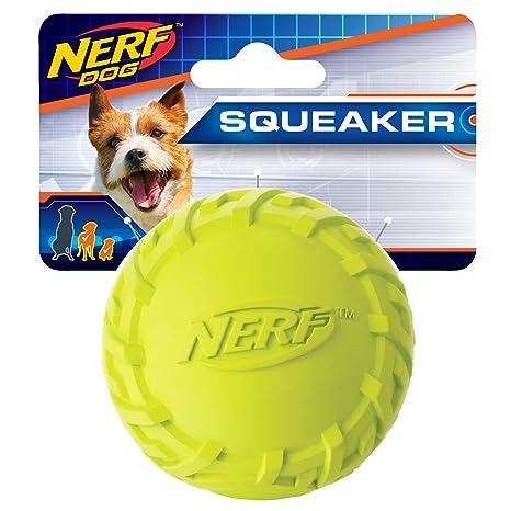 Nerf Dog Pelota de Juguete sonajero con Forma de neumático, para ...