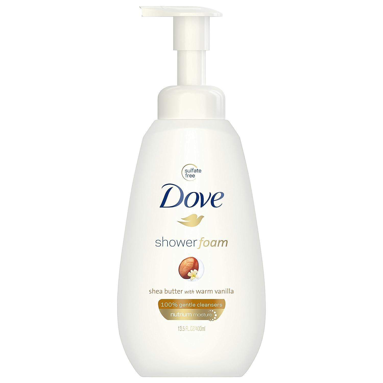 Dove Shower Foam, Shea Butter with Warm Vanilla, 13.5 oz
