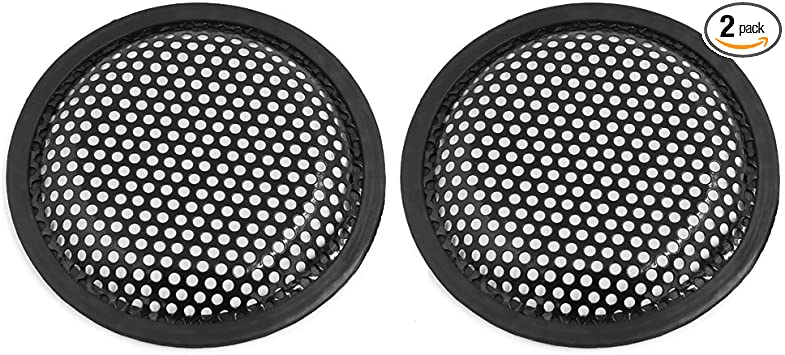 uxcell 8 Inch Dia Iron Car Vehicle Audio Speaker Subwoofer Grill Protective Cover