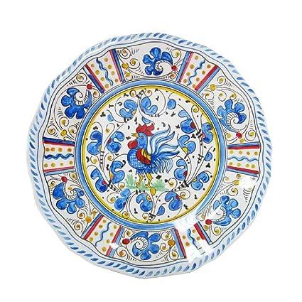 Le Cadeaux Rooster Dinner Plate 11u0026quot; ...  sc 1 st  Amazon.com & Amazon.com | Le Cadeaux Rooster Dinner Plate 11