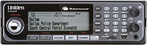 Uniden BCD536HP HomePatrol Series Digital Phase 2 Base/Mobile Scanner