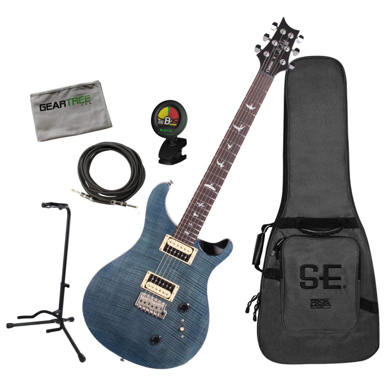 PRS CU2WB SE Custom 22 - Guitarra eléctrica con cable, soporte ...