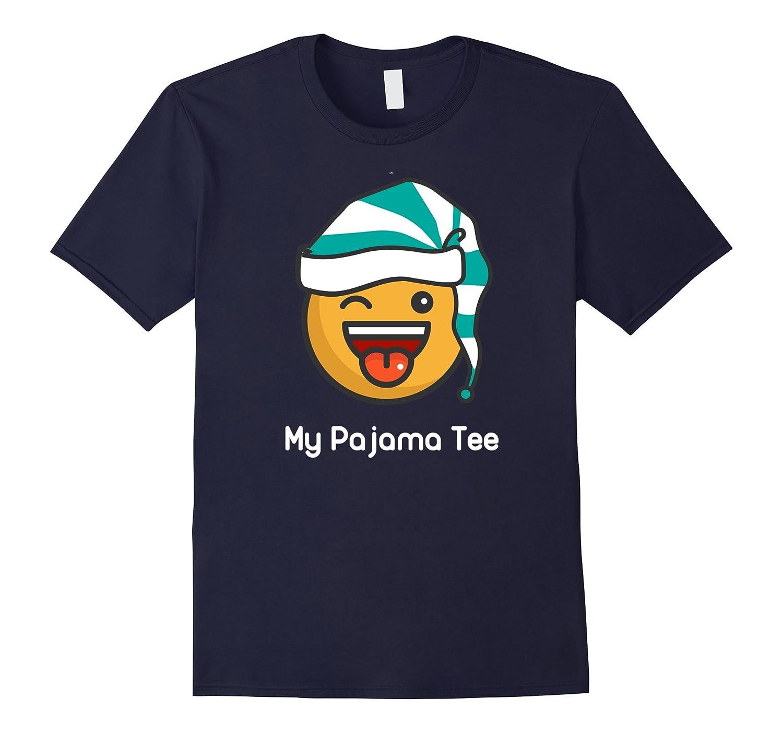 Big Boys Pajama Shirt  This is My Tee Funny Pj T Shirt-PL