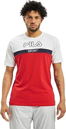 Fila Lars tee Camiseta para Hombre - algodón Talla: L: Amazon.es: Ropa y accesorios