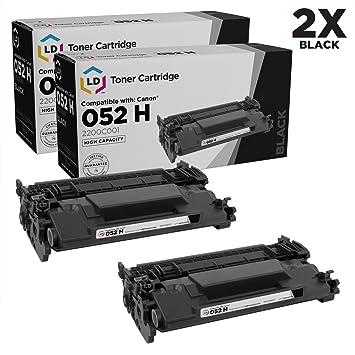 Amazon.com: LD - Cartuchos de tóner láser para Canon 052H (2 ...