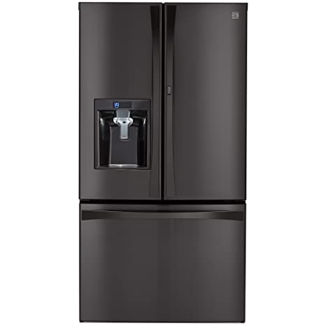 Kenmore Elite 73167 28.5 Cu. Ft. French Door Bottom Freezer Refrigerator  With Grab
