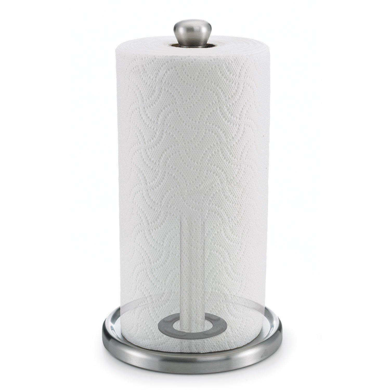 polder single tear paper towel holder sturdy one