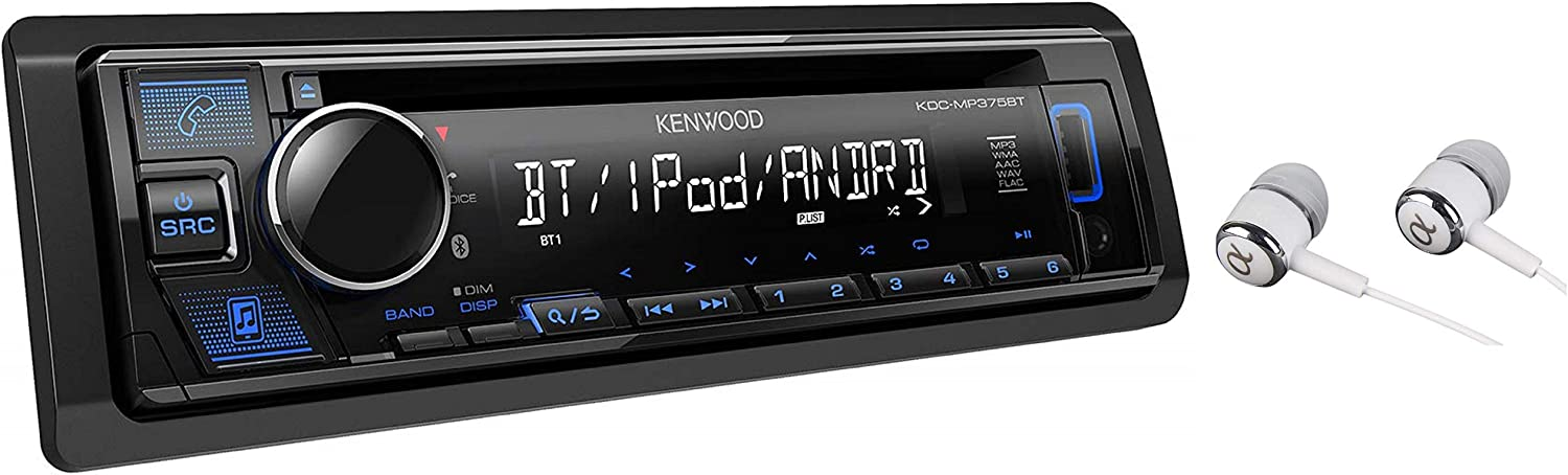 Kenwood Single DIN Car Stereo Receiver