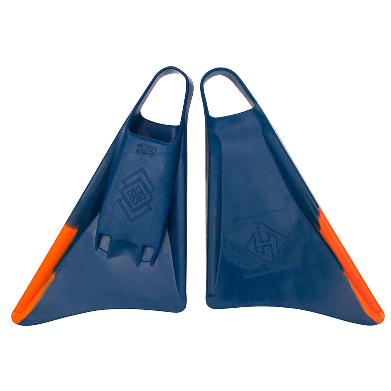 Hubboards Air Swimfins – ネイビー/オレンジ MS  B01GSII8OW