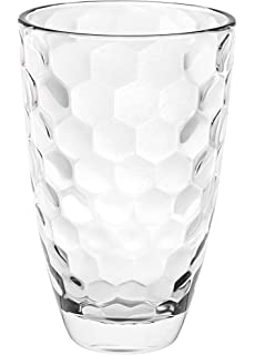 Beautiful Designed Vase Made in Europe 9.6 H Glass Barski European