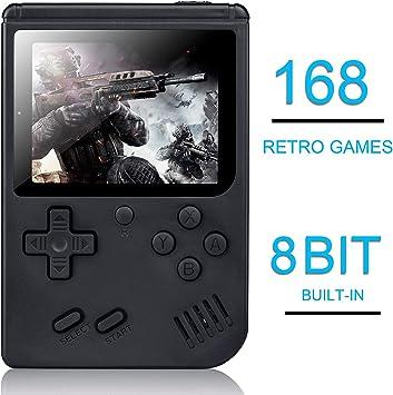 Amazon.es: weikin Consola de Juegos Portátil, 3 Pulgadas Consola ...