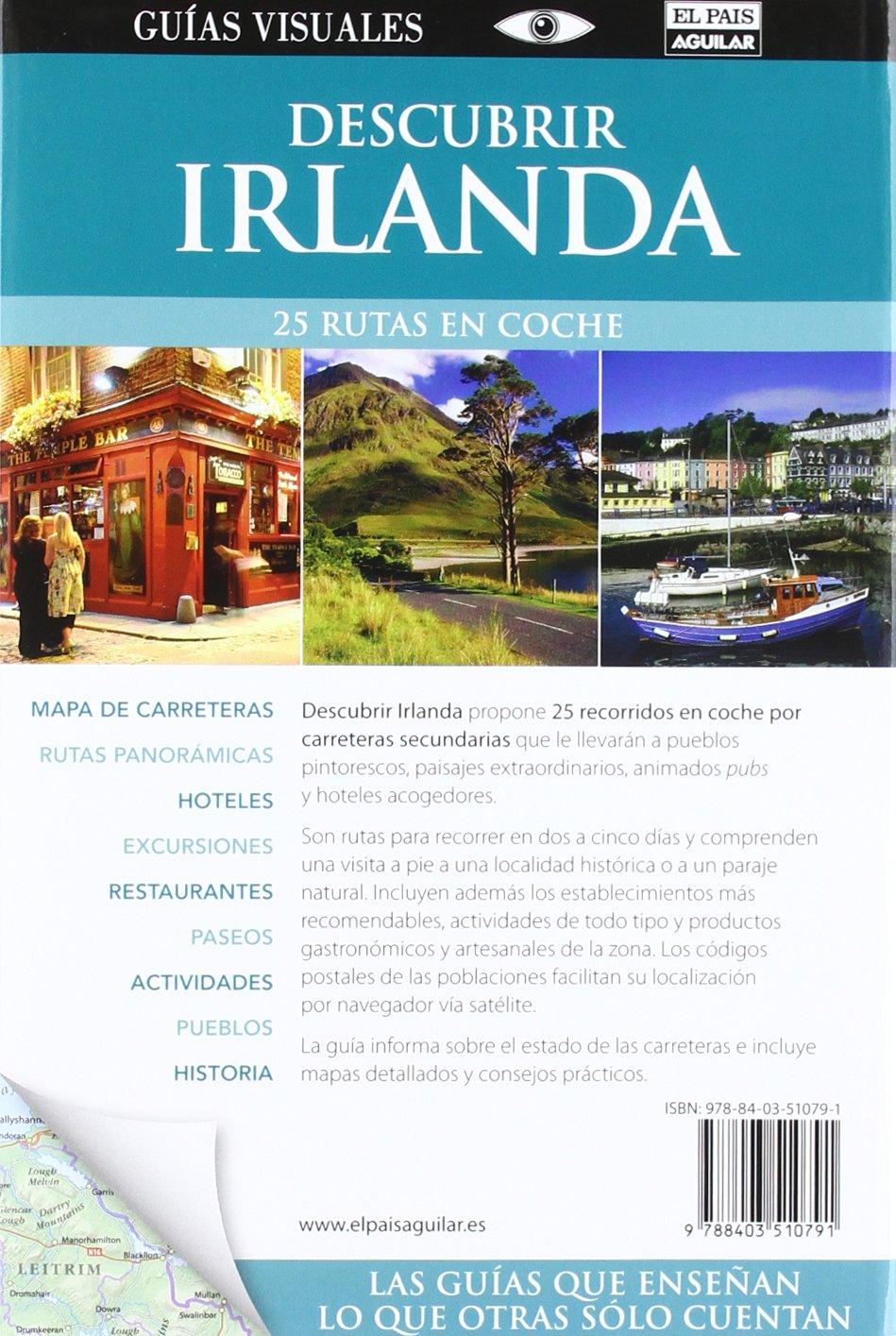 Descubrir Irlanda en coche Guías Visuales DESCUBRIR EN COCHE: Amazon.es: Varios autores: Libros