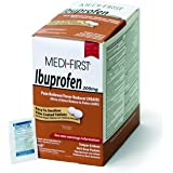 Medique Products 80848 Medi- First Ibuprofen Tablets, 250 Tablets, 125packets of 2
