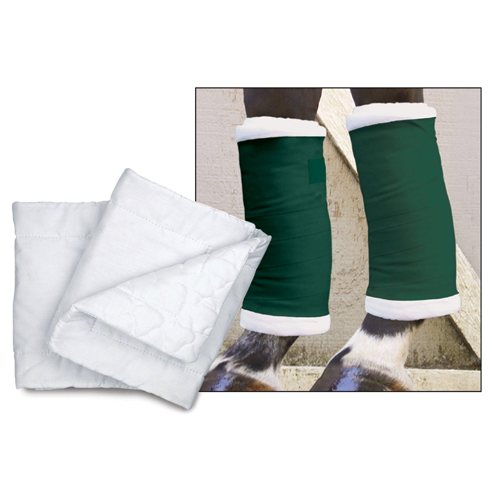 Toklat Premium Quilted Leg Wraps (White, 16'') by Toklat