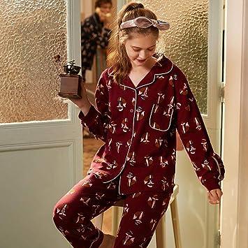 Pijamas Enteros Pareja Pijama Pareja Mujer Casual Manga Larga ...