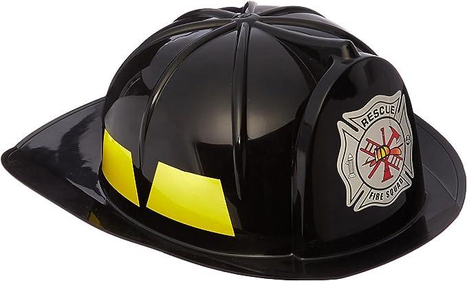Black Fireman Hat (Adult)