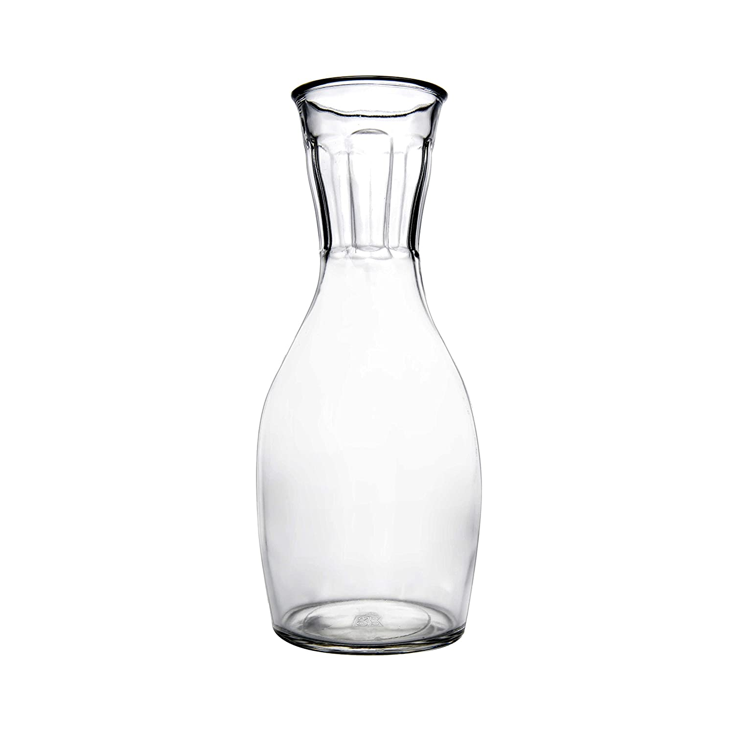 Duralex Picardie Carafe 1 Litre with 4 16 cl Duralex Picardie Glasses 5501AM06