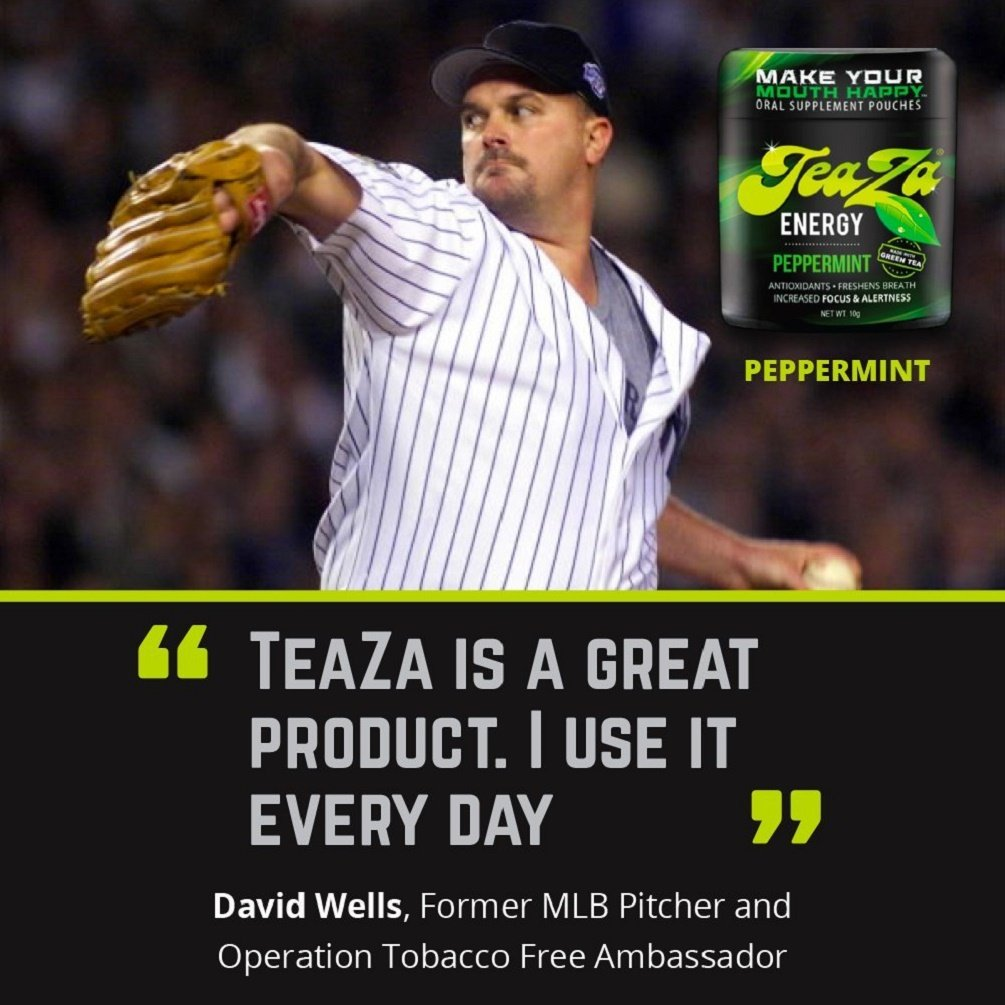 TeaZa Energy Smokeless Tobacco Alternative (3 Pack) Helps You Quit Chewing Tobacco Snuff - Nicotine Free Herbal Energy Dip - Flavored Tobacco Free Chew Helps You Quit Dipping - Fire