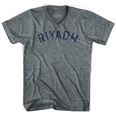 Riyadh Vintage City Adult Cotton T-shirt