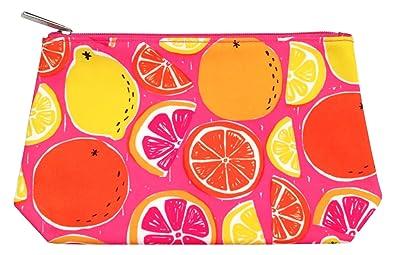 Amazon.com: Clinique naranja y rosa bolsa de maquillaje: Shoes