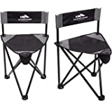 AsterOutdoor Tripod Stool Chair Folding Portable Camp Slacker for Hunting Camping Fishing Hiking