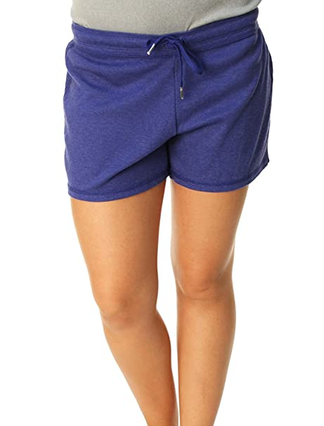 5ff03dec8 Amazon.com : Nike Womens Light Weight Jersey Drawstring Running Shorts  Large Purple : Athletic Shorts : Clothing