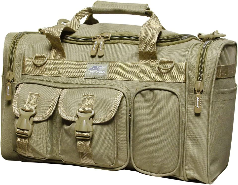 """Nexpak 18"""" Tactical Duffle Millitary Molle Gear Range Bag with Shoulder Strap Available"""
