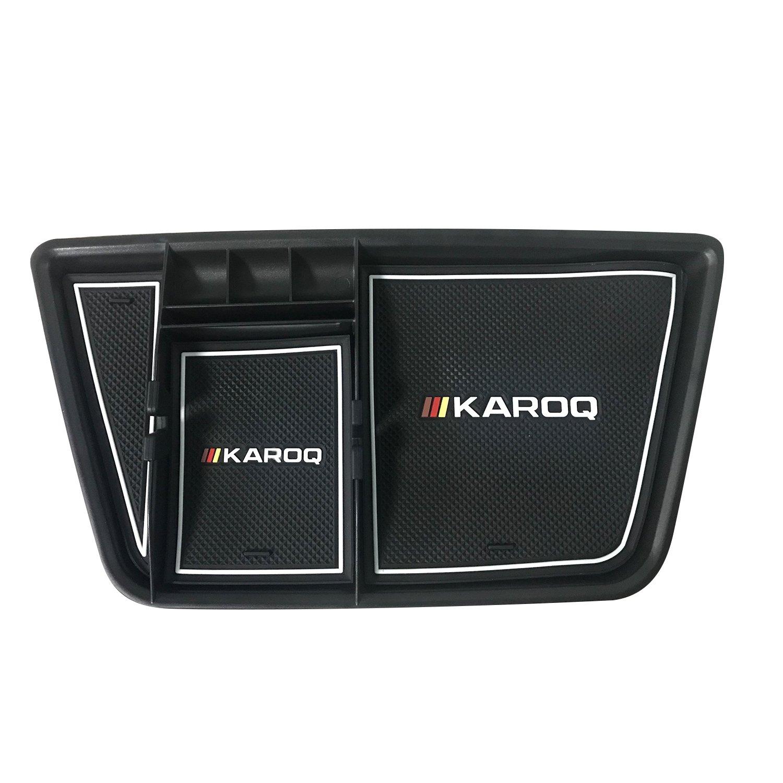 LFOTPP Karoq Handschuhfach Armlehne Aufbewahrungsbox Center Console Armrest Storage Box Innen Schwarz LiFan