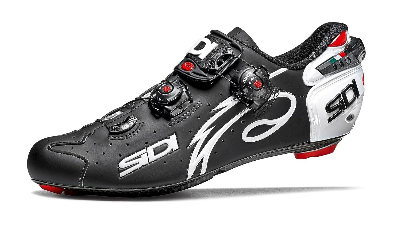 SIDI(シディ) Wire(ワイヤー) Matt Road Cycling Shoes 2018 - Matt Black/White [Size: 38~46 EUR] (45 EUR [27.5cm]) [並行輸入品]   B078XQB9W8
