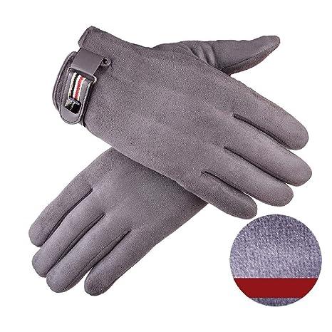 ZPSPZ guantes hombre Men S Gloves Mantener Caliente, Touch Screen ...