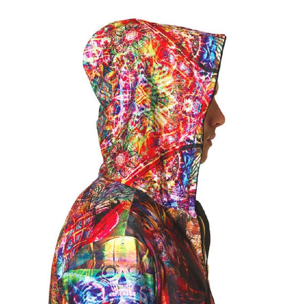 Jumbie Art Mens Ganesha Reversible Hoodie