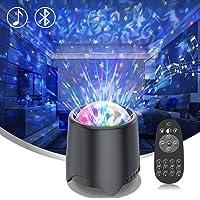 Ight lichtprojector voor kinderen, led, sterren, sterrenstelsel, projector met 16 geluiden/muziek, bluetooth speaker…