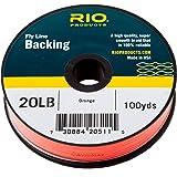 RIO Dacron Fly Line Backing - Orange 20lb 100yd