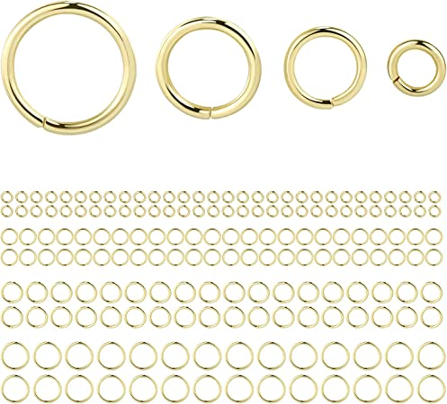 500pcs//1000pcs 4//6//8mm Circle Jump Rings Open Connectors DIY Jewelry Making Gift