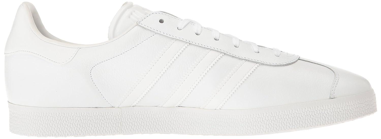 adidas Men's Gazelle Casual Sneakers Metallic B01HLJX70C 7.5 M US|White/White/Gold Metallic Sneakers 43e138