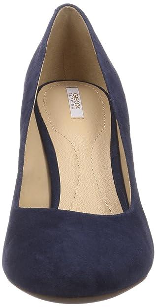 af2df7eeaf Geox D NEW MARIELE HIGH A, Women's Closed pumps, Blue (marine), 8 UK (42  EU): Amazon.co.uk: Shoes & Bags