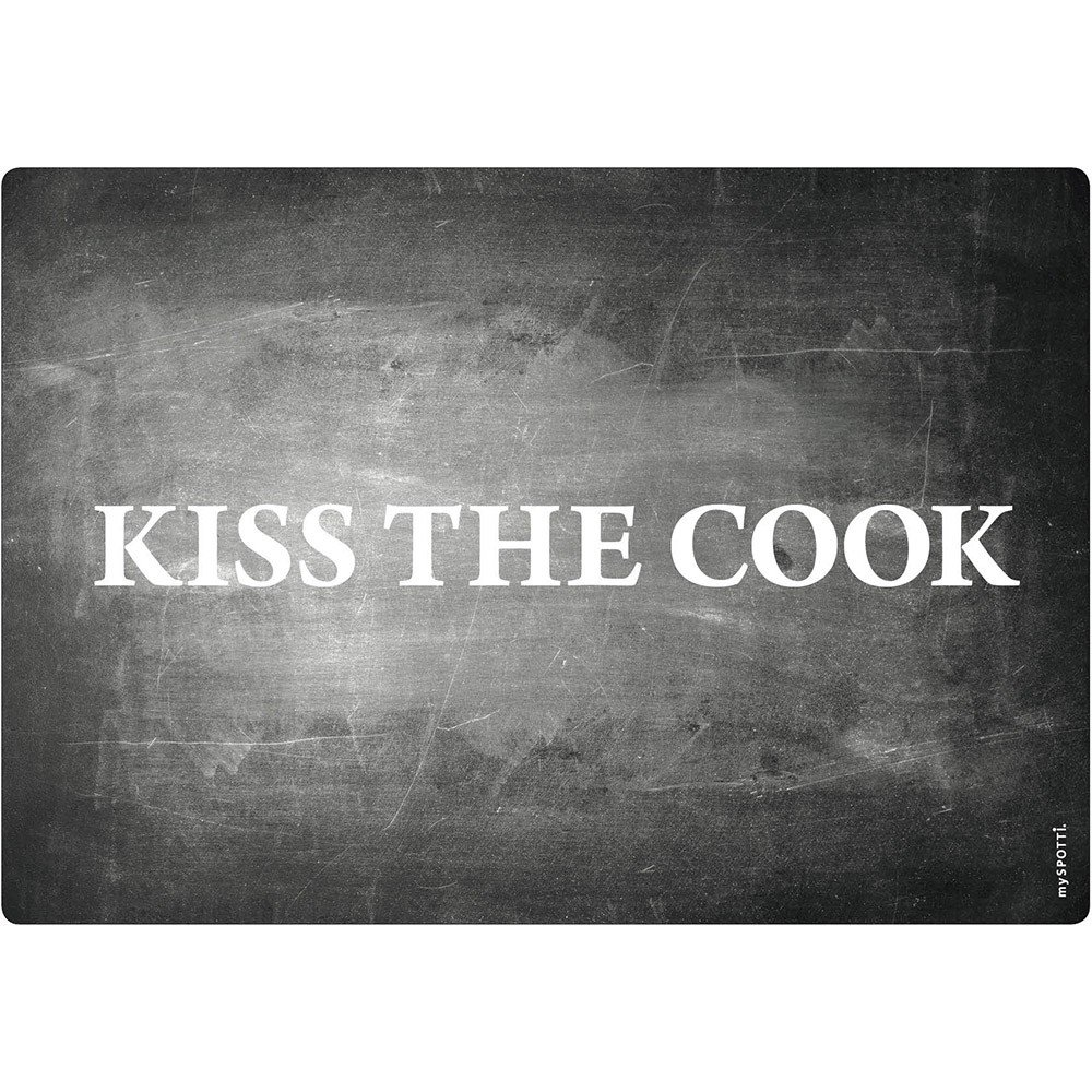 mySPOTTI - Cooker Splash Protector, Kiss the Cook Theme